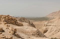 GENERAL VIEW, QUMRAN, DEAD SEA, ISRAEL_DSC_4632_LR_2.5 (Roger Perriss) Tags: 2019 78may israel qumran deasea walking stonework stonewalls walls d750 deadseascrolls scrolls bible scripture jewish essenes