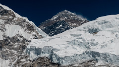 Mount Everest (Neha & Chittaranjan Desai) Tags: mount everest sagarmatha national park base camp trek himalayas mountains nepal trekking travel landscapes snow clad glacier khumbu lhotse nature hghest