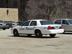 Gary Police Department (Evan Manley) Tags: garyindianapolicedepartment garypolicedepartment fordcrownvictoria policedepartment policecar