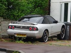 1990 Nissan 200 SX (Neil's classics) Tags: 1990 nissan 200sx abandoned car