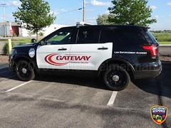 Gateway Technical College Law Enforcement Academy (Photographer Asher Heimermann) Tags: wisconsin policetraining kenosha kenoshacounty gateway college policecar policevehicle