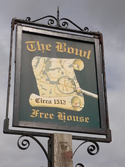 The Bowl, Charing (Ray's Photo Collection) Tags: pub sign charing bowl thebowl kent publichouse