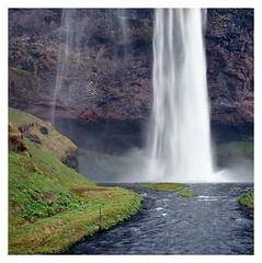 Seljalandsfoss, Iceland (2019) (phamnes) Tags: shootfilm 120film seljalandsfoss iceland mediumformatfilm c41 colorfilm 6x6 epsonv600 ishootfilm ektar100 kodak zeissplanar hasselblad501cm hasselblad