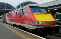 Class 91: 91126 LNER Newcastle Central (emdjt42) Tags: newcastlecentral
