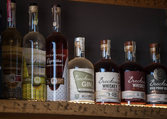 Breckenridge Distillery Lineup (bspawr) Tags: breckenridge co distillery bspawrphotography mountains lineup vodka gin bspawr june shelf wood craft whiskey colorado outdoors spirits 2019 liquor breckenridgedistillery bar