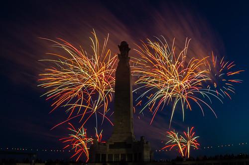 D-Day75 Fireworks