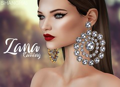 - shanghai - Zana Earring - Designer Showcase!! (- ShangHai -) Tags: secondlife shanghai store acessory jewelry fashion second s designershowcase
