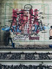 victoriam terram (eleuro_eleuro) Tags: graffiti graffporn graffitiigers graffitism graphic street streetart streetarteverywhere streetphotography streetartistry streetartist postgraffitismo postgraffiti art artwork artist artsy character charater