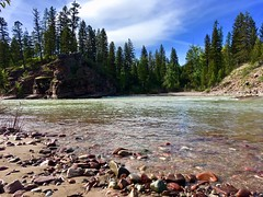 Spotted Bear Beach (Forest Service - Northern Region) Tags: rivers streams flatheadnationalforest montana scenic