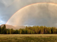 Rainbow over Condon Airfield (Forest Service - Northern Region) Tags: flatheadnationalforest montana scenic