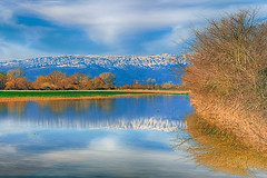Land,water,sky (Dimitil) Tags: greece hellas thessaly trikala clouds cloudysky colors country countryard countryside county environs landscape liquidmirror mirror nature pinios piniosriver plane reflections river sky snow trees valley water waterscape winter