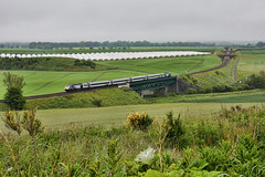 Lunan Viaduct (whosoever2) Tags: uk united kingdom gb great britain scotland nikon d7100 train railway railroad june 2019 scotrail inter7city hst class43 lunan viaduct inverkeilor glasgow aberdeen