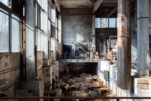 Jupiter Factory, Prypjat.