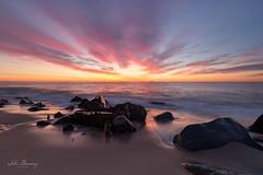 East Coast Sunrise (johnbacaring) Tags: sunrise east coast new jersey jerseyshore newjersey nature beach salt ocean atlantic canonphotography canon