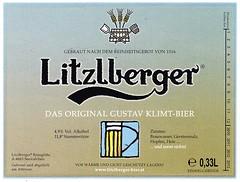 Austria - Litzlberger Braugilde (Seewalchen) (cigpack.at) Tags: austria österreich seewalchen litzlbergerbraugilde gustavklimtbier litzlberger bier beer brauerei brewery label etikett bierflasche bieretikett flaschenetikett