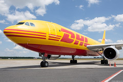 D-AEAJ (Andras Regos) Tags: aviation aircraft plane fly airport bud lhbp spotter spotting dhl eat europeanairtransport eatleipzig cargo freighter airbus a300 a300f