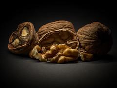 Cracked Nuts (Maximilian Busl) Tags: nuts food macro closeup hasselblad 500cm cfv50c stilllife tabletop