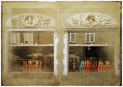 travel book (The Threekindlycents Opera) Tags: windows building architecture showcase socks city street texture gdansk poland