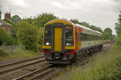 158880 (David Blandford photography) Tags: swt dean south western railway class 158 sprinter unit