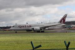 Qatar A7-BCM DUB 06/06/19 (ethana23) Tags: planes planespotting aviation avgeek aeroplane aircraft airplane boeing 787 7878 qatar