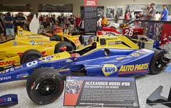 Mario Andretti Exhibit - IMS Museum_ 5_2619__MG_3169 (Pat Kilkenny) Tags: marioandretti imsmuseum exhibit ims indianapolismotorspeedway
