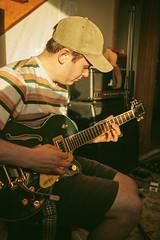 Golden Hour (Adrian Schaap) Tags: digital canon 5d mark2 5dmkii 2470mm f28l halifax novascotia nova scotia coast sunset people guitar music musician singer songwriter jazz rock country jam