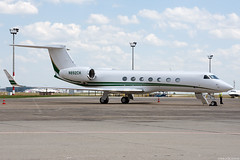 N892CH (Andras Regos) Tags: aviation aircraft plane fly airport bud lhbp spotter spotting apron corporate businessjet bizjet gulfstream g550