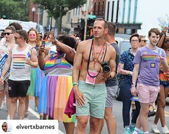 Posted @withrepost • @elvertxbarnes Photographer TED EYTAN @tedeytan at 44th Capital Pride Parade at 14th and R Street, NW, Washington DC on Saturday evening, 8 June 2019 by Elvert Barnes Photography. Elvert Barnes 44th CAPITAL PRIDE 2019 / Washington DC