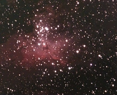 Close up of M16 (sparkdawg068) Tags: space weather nebula stars zwo 294 mc pro cooled color camera texas deepskystacker ps