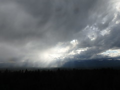Watching Virga fall from Cooney Lookout (Forest Service - Northern Region) Tags: firelookouts montanasky scenic flatheadnationalforest montana clouds weather