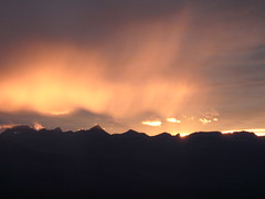 unset from Cooney Lookout (Forest Service - Northern Region) Tags: sunset firelookouts montanasky scenic flatheadnationalforest montana clouds weather