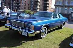 Mercury Grand Marquis PFE678P (Andrew 2.8i) Tags: classics meet show cars car classic weston westonsupermare american saloon sedan 2doorhardtop marquis grand mercury