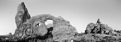 Turret Arch Black and White (Duncan Rawlinson - Duncan.co) Tags: 1kxkjufudpbxnuwhdzzeprcpjj4bmjtkjx 6by17 6x17 america arches archesnationalpark archesnationalparkutahunitedstatesofamerica duncanrawlinsonphoto duncanrawlinsonphotography duncanco iq250 landscape nationalpark park phaseone phaseoneiq250 photobyduncanrawlinson rocky shotwithaphaseoneiq250 usa unitedstates unitedstatesofamerica utah arch archesnationalparkutah architecturalelement bandw blackandwhite desert erosion final formations geological geology httpsduncanco iconic moab natural nature outdoors rock sandstone scenic sky southwest stone tourism travel turret turretarch turretarcharchesnationalpark west western window