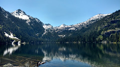 Glacier Lake in Early June (Forest Service - Northern Region) Tags: scenic flatheadnationalforest lakes montana alpinelake