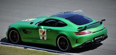 (Uno100) Tags: mercedes benz amg gt r coupe roadster sls red black green gtr assen circuit tt super car sunday 2019