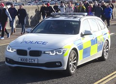 Cleveland Police & Durham Constabulary (NX18 CCY) (ferryjammy) Tags: nx18ccy cleveland durham police