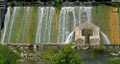 Old Grace Dam 3 (arbyreed) Tags: arbyreed dam oldgracedam utahpowerandlight pacificcorp electricpowerdam infrastructure electric electricpowergrid hydropower water irrigation graceidaho cariboucountyidaho
