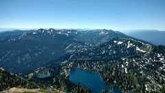 Birch Lake and the Swan Range from Mt. Aeneas (Forest Service - Northern Region) Tags: scenic flatheadnationalforest lakes montana alpinelake