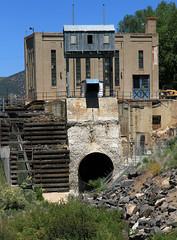 Old Grace Dam 2 (arbyreed) Tags: arbyreed dam oldgracedam utahpowerandlight pacificcorp electricpowerdam infrastructure electric electricpowergrid hydropower water irrigation graceidaho cariboucountyidaho