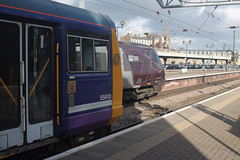 142019-221138-NC-05032019-1 (RailwayScene) Tags: class142 142019 northern pacer leyland railbus class221 221138 arriva crosscountry newcastle