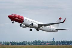 B737_Norwegian_LN_NGN_JDB_8330 (Jan van der Heul) Tags: schiphol schipholairport civilaviation aircraft airplane eham ams