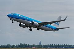 B737_KLM_PH_BXD_JDB_8292 (Jan van der Heul) Tags: schiphol schipholairport civilaviation aircraft airplane eham ams