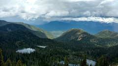 The Three Doris Lakes from Doris Mountain (Forest Service - Northern Region) Tags: scenic flatheadnationalforest lakes montana alpinelake