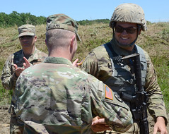 AG, SEL visit 276th Engineer Bn. during annual training (Virginia Guard Public Affairs) Tags: sel ag fortpickett 276thengineerbattalion annualtraining