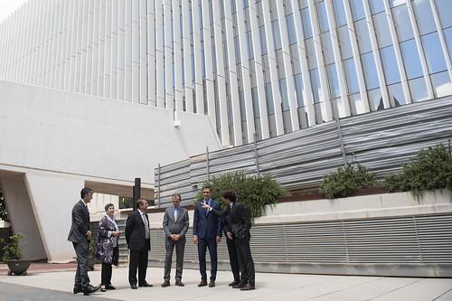 Pedro Sánchez visita en Barcelona la futura sede del superordenador MareNostrum 5 (12/06/2019)