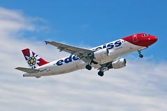 HB-IHZ Airbus A.320-214 Edelweiss Air PMI 28-05-19 (PlanecrazyUK) Tags: lepa sonsantjoanairport aeroportdesonsantjoan palmademallorcaairport hbihz airbusa320214 edelweissair pmi 280519