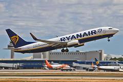 EI-GDX Boeing 737-800 Ryanair PMI 28-05-19 (PlanecrazyUK) Tags: lepa sonsantjoanairport aeroportdesonsantjoan palmademallorcaairport eigdx boeing737800 ryanair pmi 280519