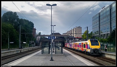 NMBS 08178 @ Etterbeek (Steven De Haeck) Tags: etterbeek brussel bruxelles belgië belgique nmbs sncb lijn161 lijn26 am08 ms08 desiro partytrain festivaltrein s4 aalst brusselschuman vilvoorde