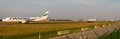Airbus line (fakocka84) Tags: lisztferencairport lhbp finnair aegeanairlines britishairways