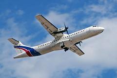 EC-LST ATR.72 201 Swiftair SA Air Europa lsd PMI 28-05-19 (PlanecrazyUK) Tags: lepa sonsantjoanairport aeroportdesonsantjoan palmademallorcaairport eclst atr72201 swiftairsa aireuropa lsd pmi 280519